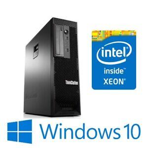 Lenovo ThinkStation C30 Dual 6 Core E5-2620v2 32G 1TB FirePro W5000 Win 10 Pro