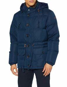 Hackett London HKT Puffa jacket down & feather filling, hooded oversized