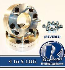 """4pc  Dual Drill 4x4.25"""" (x108mm) & 4x110mm to 5x4.50"""" (114.3mm) Wheel Adapters"""