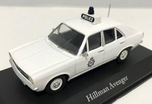ATLAS BEST OF BRITISH POLICE CARS 1/43 HILLMAN AVENGER WEST YORKSHIRE POLICE