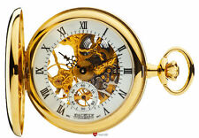 Gold Plated Modern Pocket Skeleton Watches