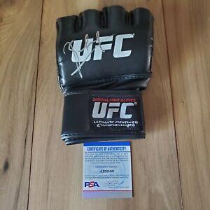 Kamaru Usman UFC Signed Autographed Glove COA PSA/DNA #AJ22580