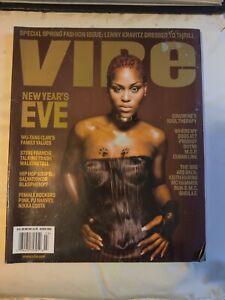 VIBE MAGAZINE MARCH 2001 Eve cover MEMORABILIA VINTAGE HIP HOP