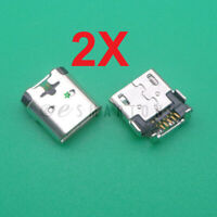 2X Nokia Lumia 635 630 RM-975 Micro USB Charger Charging Port Dock Connector USA