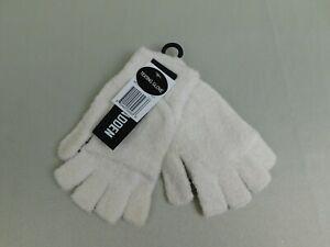 Steve Madden Ultra-Soft Flip-Top Convertible Mittens-Gloves - Ivory #6066