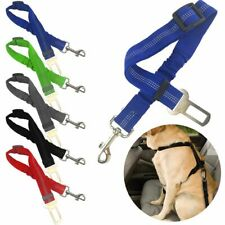 US 1/2 Pcs Cat Dog Pet Safety Seatbelt for Car Seat Belt Adjustable Harness Lead