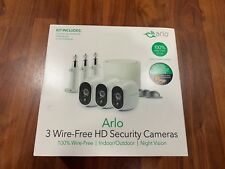 Arlo Wireless Home Security Camera System 3 camera Kit (VMS3330) New!!!