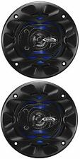 Pairs - BOSS Audio Full Range Speakers 3 Way Car Speakers 225 Watt RMS 4 Inch