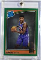 2018-19 Panini Donruss Rated Rookie Green Flood Deandre Ayton RC #157, Parallel