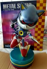 "First 4 Figures Metal Sonic 15"" collection statue F4F Figure CD Sega Hérisson"