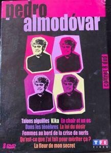 Pedro ALMODOVAR 8 DVD's Collection Coffret Talons aiguilles Kika En chair Used