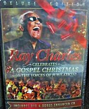 Ray Charles - Gospel Christmas with the Voices of Jubilation NEW! DVD & CD, LIVE