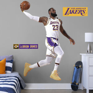 LEBRON JAMES - LIFE SIZE - 2020 FINALS DUNK - LICENSED NBA FATHEAD