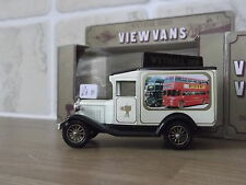 Lledo Stevelyn Model A Ford View Van, Routemaster Bus, Wythall 1989 - cream
