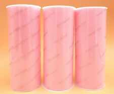 "3 Light Pink 6"" Sparkle Tulle Rolls Spools Wedding Bow Decoration Craft 25 Yd"