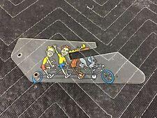 Data East Rocky and Bullwinkle Pinball Machine Bike Playfield Plastic