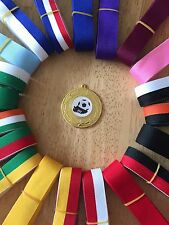 10x Football. Club Schools Medals 50mm Choice of ribbons  Great value!! Bulk Buy