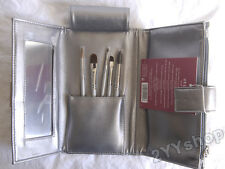 NIB Stila Cosmetics Holiday Brush Set with Clutch -  #2S, #4S, #9S, #10S, #11S