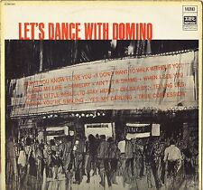 """FATS DOMINO """"LET'S DANCE WITH DOMINO"""" LP 1981"""