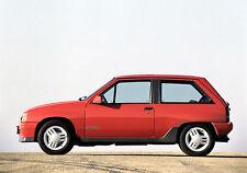 Vauxhall Nova-Opel Corsa A Press Photo Collection 1983-1992 inc GSi, GTE, Sport
