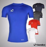 Mens Sondico Core Base Layer Training Top Short Sleeve Sizes S M L XL XXL