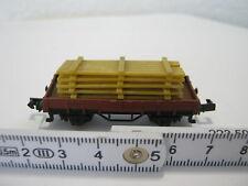 Arnold N Niederbordwagen + Holzpaletten DB (RG/RR/028-3S4/2)