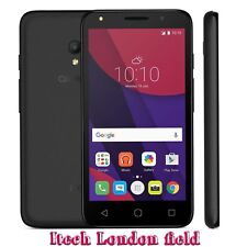 "Alcatel Pixi 4 5045X 8GB 4G 8MP 5"" Android Mobile Smartphone Black Unlocked"