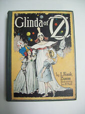 GLINDA OF OZ L.FRANK BAUM 1920 with map