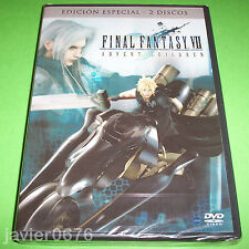 FINAL FANTASY VII ADVENT CHILDREN DVD NUEVO Y PRECINTADO EDICION ESPECIAL