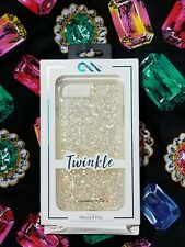 New Casemate iPhone 8 Plus Case Gold Twinkle 8+ 7+ 6s+ 6+ Case Mate