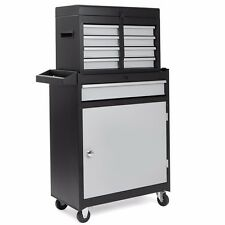 5 Drawer Rolling Tool Cabinet Tool Chest Tools Organizer Wrench Socket