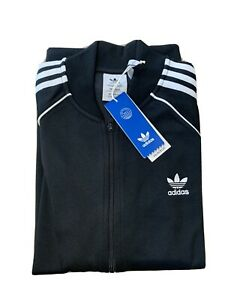 Adidas SST TT P Tracksuit Zip Up Jacket Black Large BNWT New