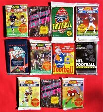 Closeout Football CARDS Lot Old Unopened PACKS Topps Fleer Upper Deck + Favre ?