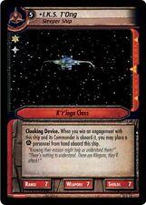 Star Trek CCG 2E Captain's Log I.K.S. T'Ong, Sleeper Ship 10U116