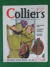 COLLIER'S April 3, 1937 Cover Art by SCHWINN Vol. 99, No. 14 MAX BRAND