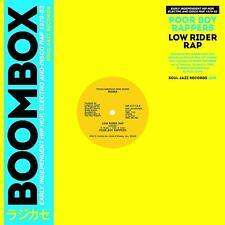 POOR BOY RAPPERS - LOW RIDER RAP (VOCAL/INSTRUMENTAL) LIM.  VINYL LP SINGLE NEW!