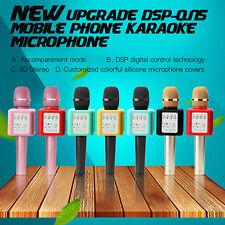 Authentic * LOCAL * MicGeek Q9S Wireless Bluetooth Karaoke Microphone BLACK