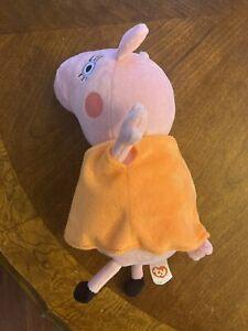 TY 2012 Peppa Pig Mommy Pig Plush Doll FREE SHIP!
