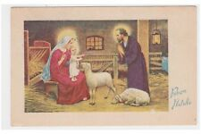 PMCE 144/1 cartolina Natale Sacra Famiglia Christmas Holy Family old postcard