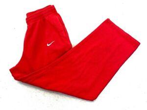 Mens Nike Red Sweatpants Sportswear Greenville South Carolina Size Large Great