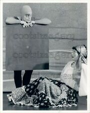 1984 Children's Theatre Festival Houston Shapes Sadness & Witch Press Photo