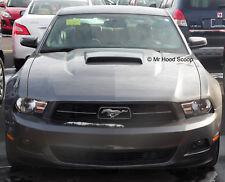2010,11,12 Hood Scoop for Ford Mustang Boss GT Style MrHoodScoop UNPAINTED HS005