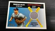 2004 TOPPS HERITAGE BASEBALL MARCUS GILES CLUBHOUSE COLLECTION RELIC CARD