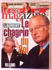 Soir Magazine 10/01/2007; Justine Hénin divorce/ Jery Brukheimer/ Chanteur et Fr