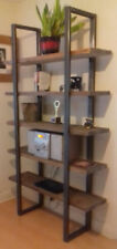 Shelving Unit in reclaimed timber and industrial steel frames