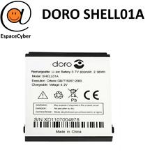 Batterie Shell01A pour Doro 409 410 520X 605 610 611 612 621 622 632 800 mAh