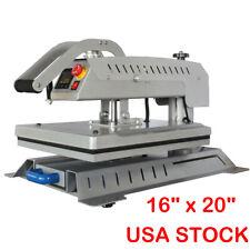 Swing Away 16x20 T Shirt Heat Press Machine 3d Sublimation Heat Transfer Usa
