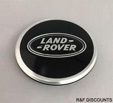 X1 genuine land rover noir chrome wheel centre cap discovery 2,3,4 freelander 2