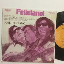 "Jose Feliciano Light My Fire OZ Pressing 4 Track EP 7"" Record"