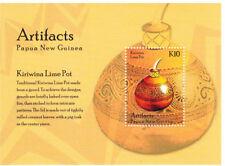 Papua New Guinea 2014 - Artifacts Stamp souvenir sheet Mnh